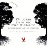 CD '20th Century Spanish Music For Flute And Piano'