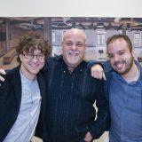 Carlos Cano, Aldo Méndez y Hernán Milla